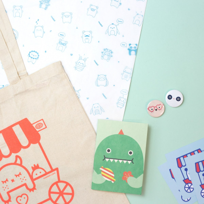 Noodoll: When custom sustainable packaging doubles as a social media marketing strategy