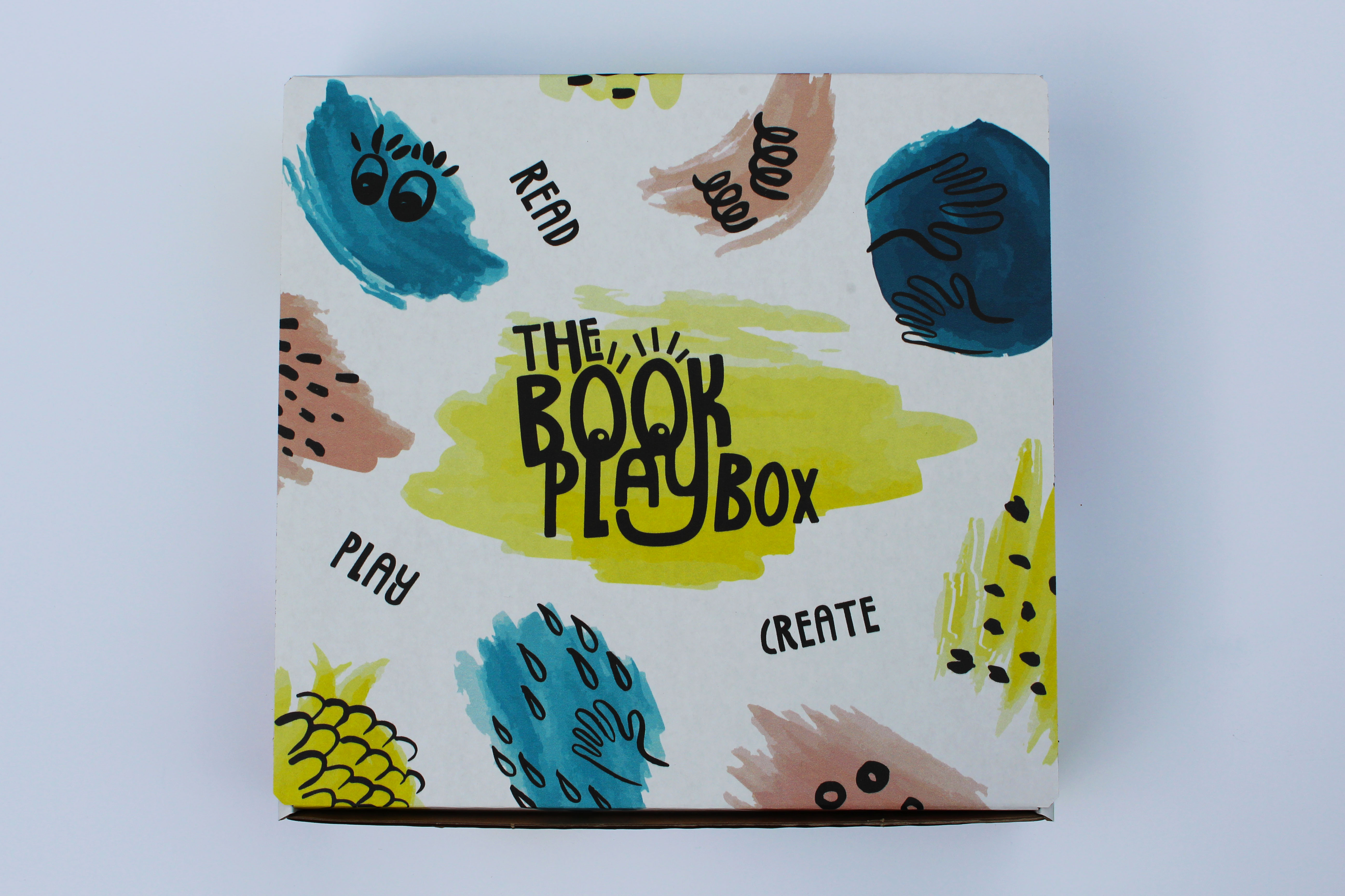 Lid of The Book Playbox