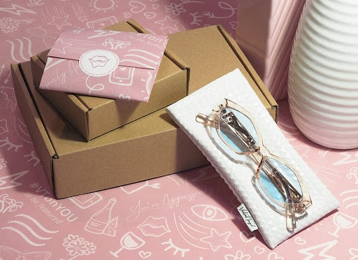 Branded tissue paper by Violet Tinsel